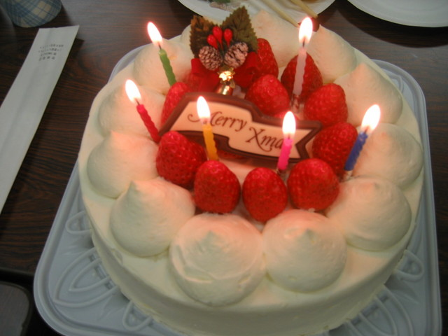 Japanese Christmas Cake